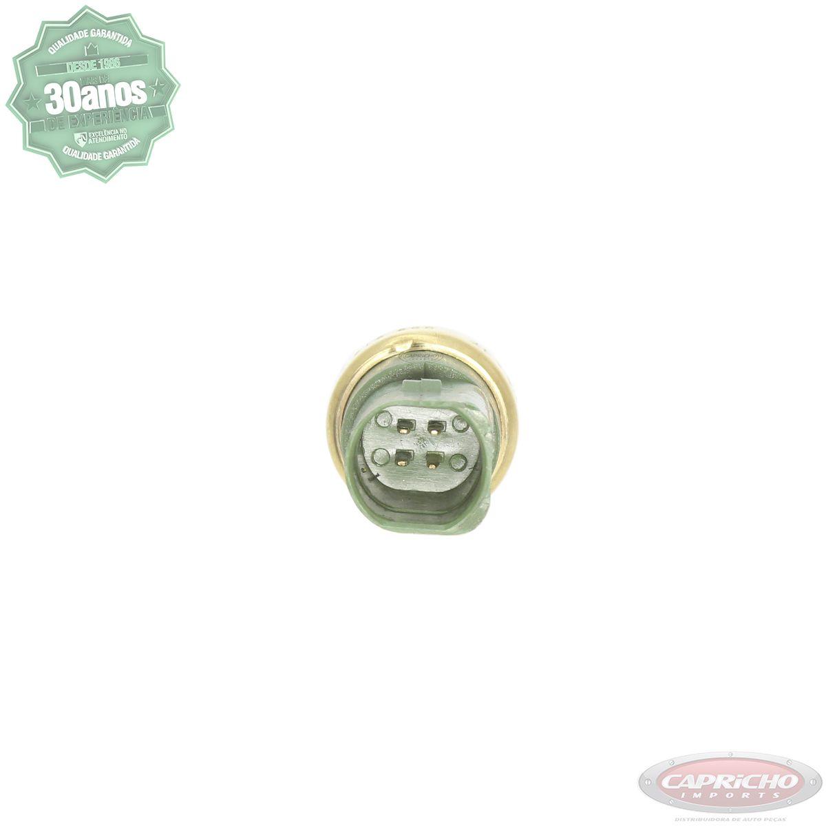 Sensor de Temperatura Original Volkswagen - Gol / Bora / Golf / Fox / Kombi / Passat / Parati / Saveiro + Anel Vedação d