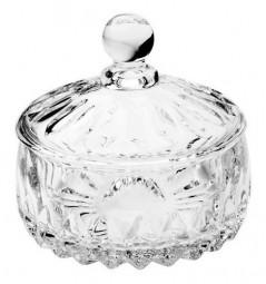 Bomboniere 11 Cm De Cristal Com Tampa Louise Wolff - 35195