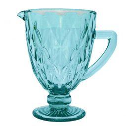 Jarra de 1 litro de vidro azul tiffany Diamond Lyor - L66926