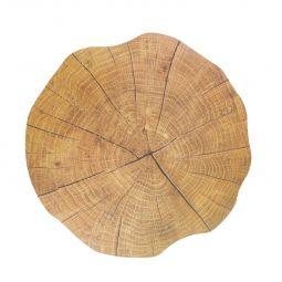 KIt 4 un de Jogo americano 38 cm de cortiça bege Autumn Lyor - C6895