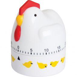 Marcador de tempo para cozinha com alarme Galinha Bon Gourmet - 7714