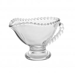 Molheira 140 ml de cristal transparente Pearl  Wolff - 28387