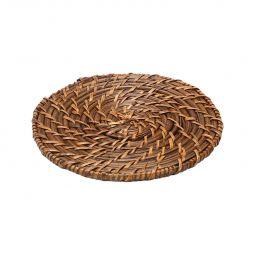Sousplat, descanso para panela 20 cm de rattan redondo Bon Gourmet - 1090