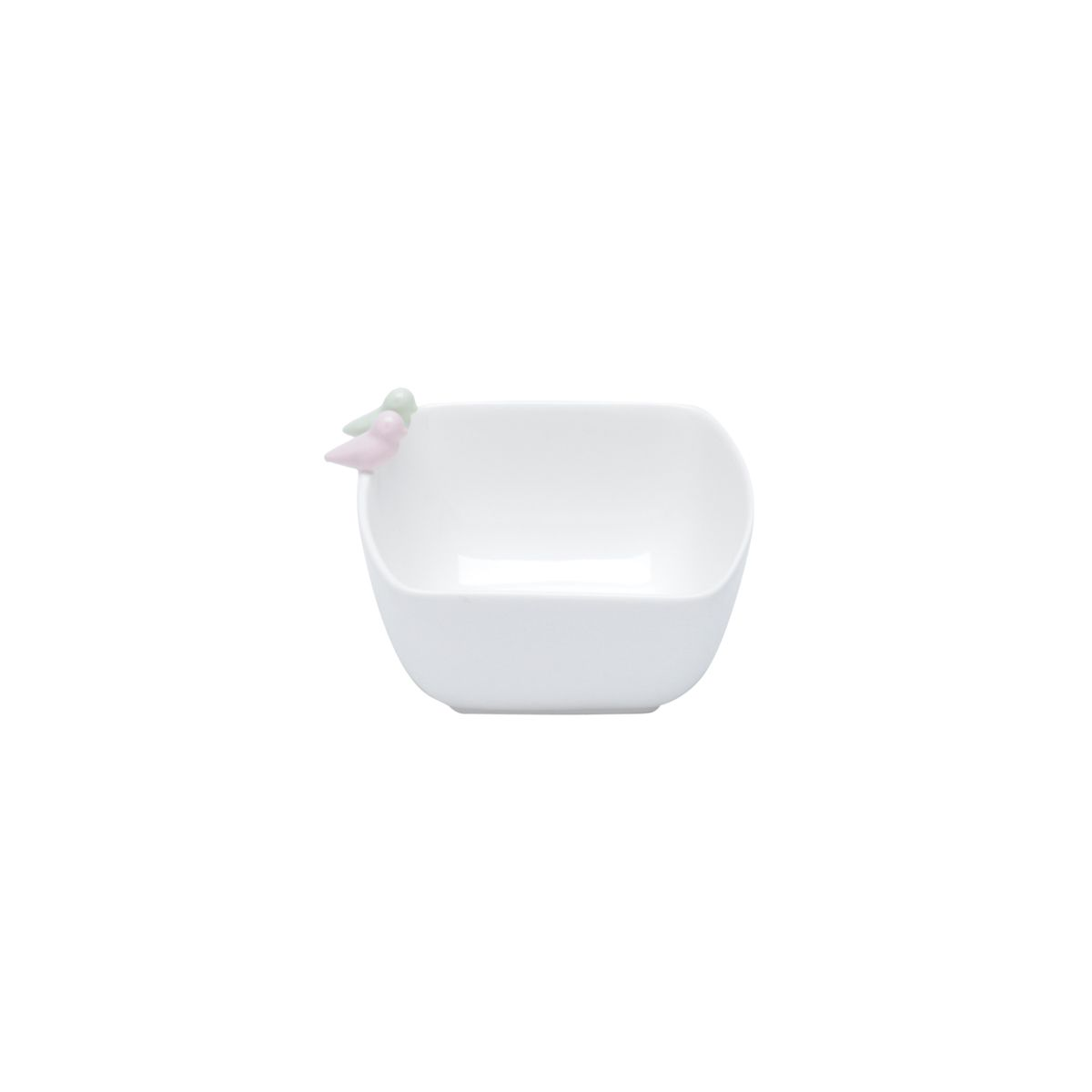 Bowl 12 x 10 cm de porcelana Birds Colors Wolff - 17400