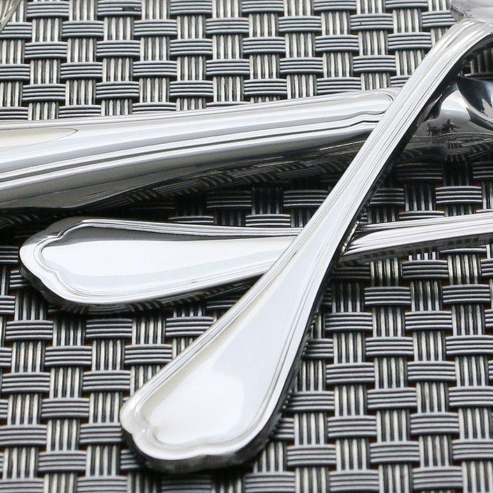 Faqueiro 101 peças de aço inox sem estojo Zurich Wolff - 70022