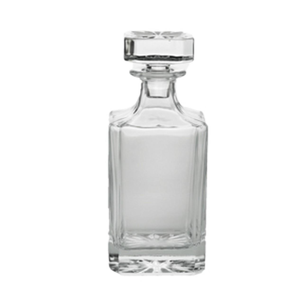 Garrafa 750ml para whisky de cristal de chumbo 27774