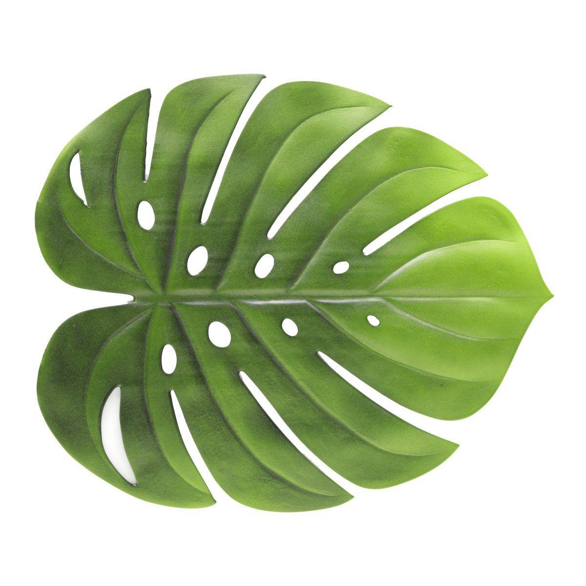 Jogo americano de 1 unidade 48 cm de EVA verde Garden Leaf Lyor - L6892