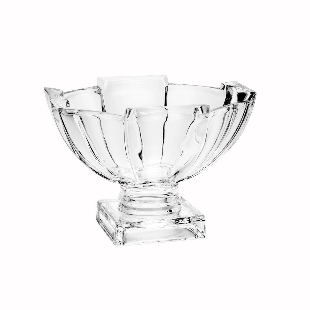 Jogo de 6 taças 12 cm para sobremesa de cristal transparente Stage Wolff - 26477