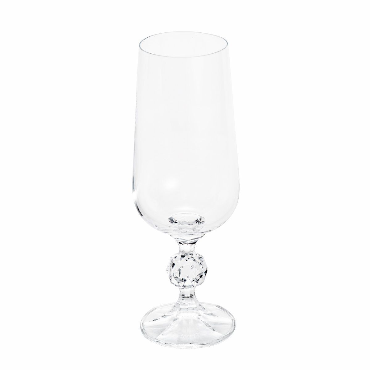 Jogo 6 taças 280ml para cerveja de cristal ecológico transparente Klaudie Bohemia - 5442