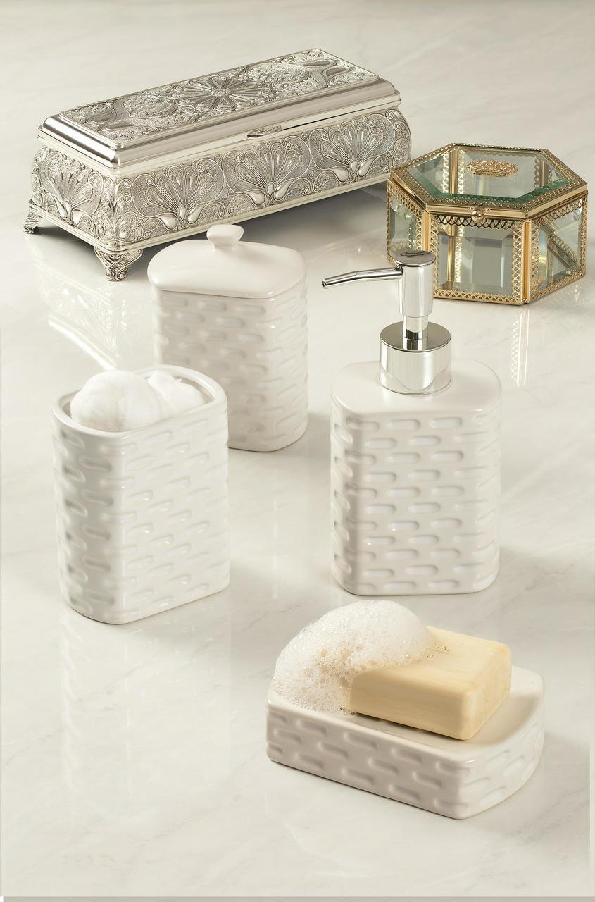 Porta-Joias 11 cm de vidro e zamac dourado Crown Lyor - L3708