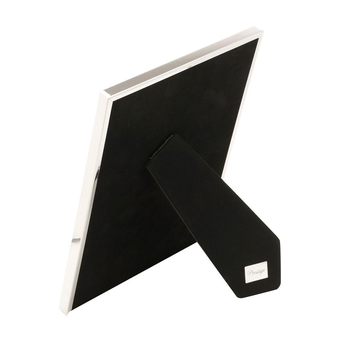 Porta-retrato 20 x 25 cm de aço prateado Knot Prestige - 25505