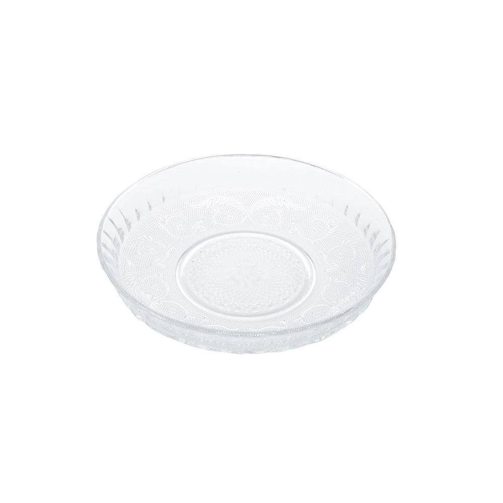 Prato 29,8 cm para bolo de vidro transparente Angel Lyor - L6721