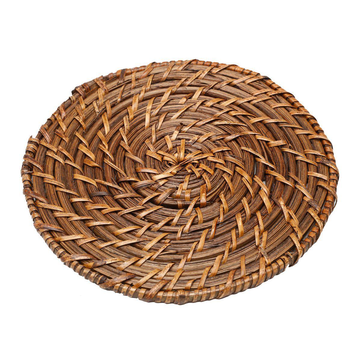 Descanso para panela 20 cm de rattan redondo Bon Gourmet - 1090