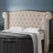 Cabeceira  para Cama Queen 1,60 cm  Valência - Perfan
