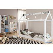 Conjunto Infantil Cama Montessoriano By 400 Estante Com 8 Nichos By 160 E 1 Estante Com 4 Nichos By150  Completa Móveis