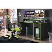 Mesa Computador Gamer Ninja Verde