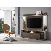 Home Doha Para Tv 65 Polegadas Com Espelho Madero Off White - Mobler