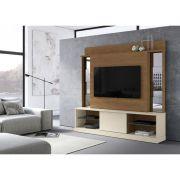 Home Para Tv 65 Polegadas Com Espelho Nature Off White Mobler