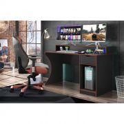Mesa Computador Gamer Ninja Vermelho