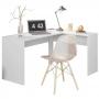 Escrivaninha De Canto Office Presence Branco Demóbile
