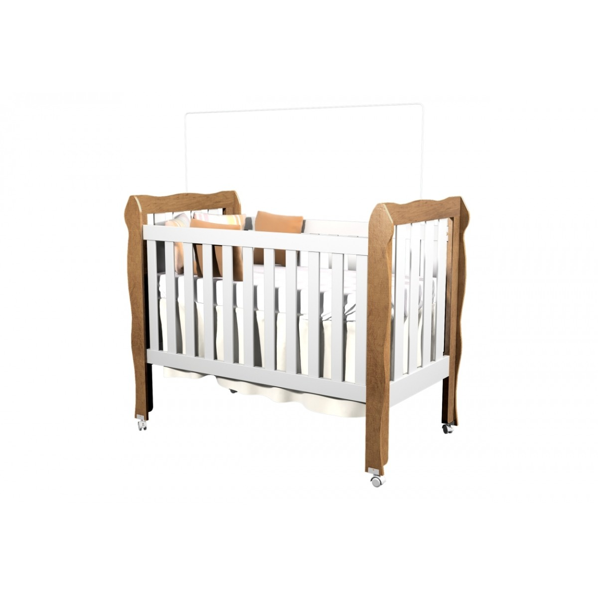 Berço Mini Cama Lila 331 - Carolina Baby