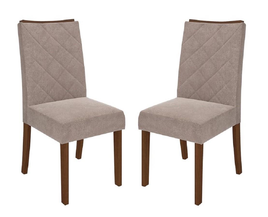 Conjunto Com 2 Cadeiras Golden - Dj Móveis