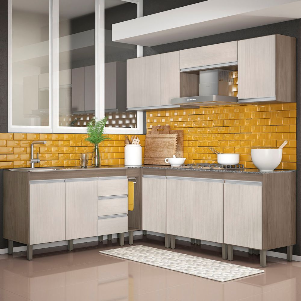 Cozinha Modulada 8 Peças 7700 Karen Peternella