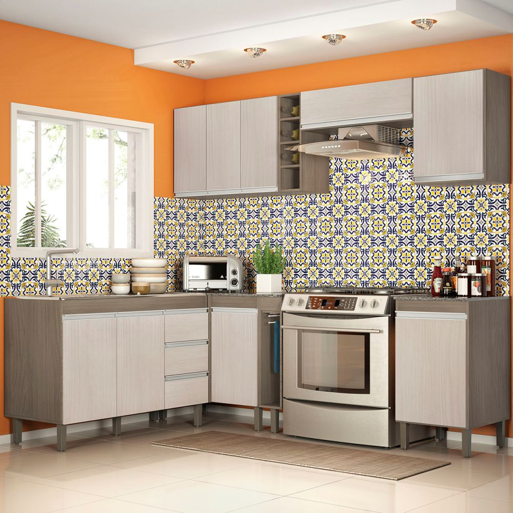 Cozinha Modulada 8 Peças 7800 Karen Peternella