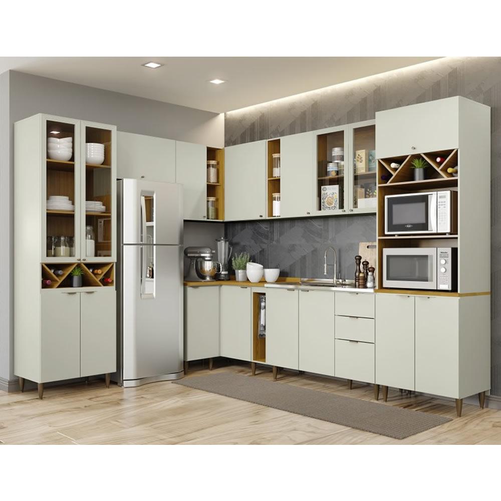 Cozinha Modulada Linha Essência 11 Peças - Henn