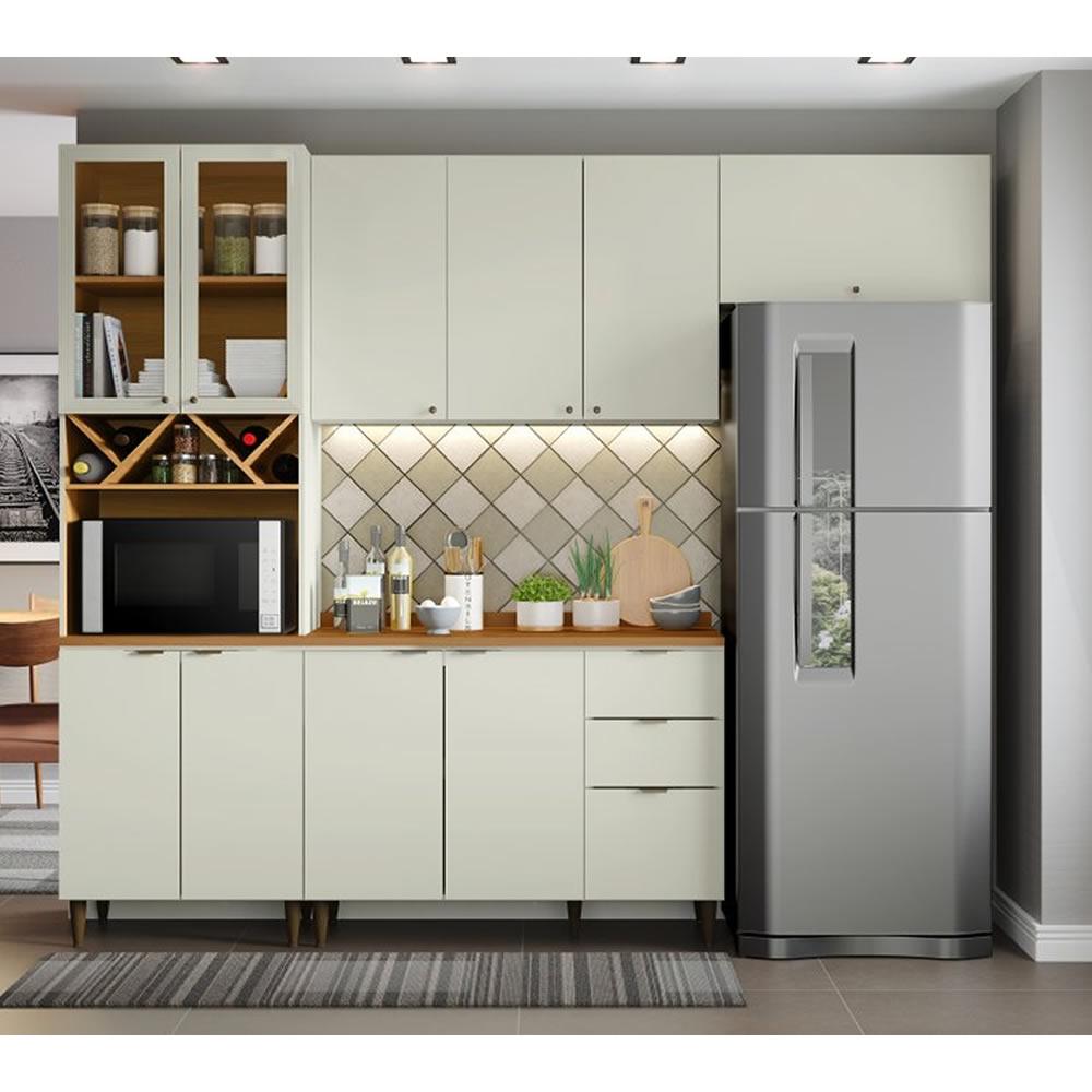 Cozinha Modulada Linha Essência 4 Peças - Henn
