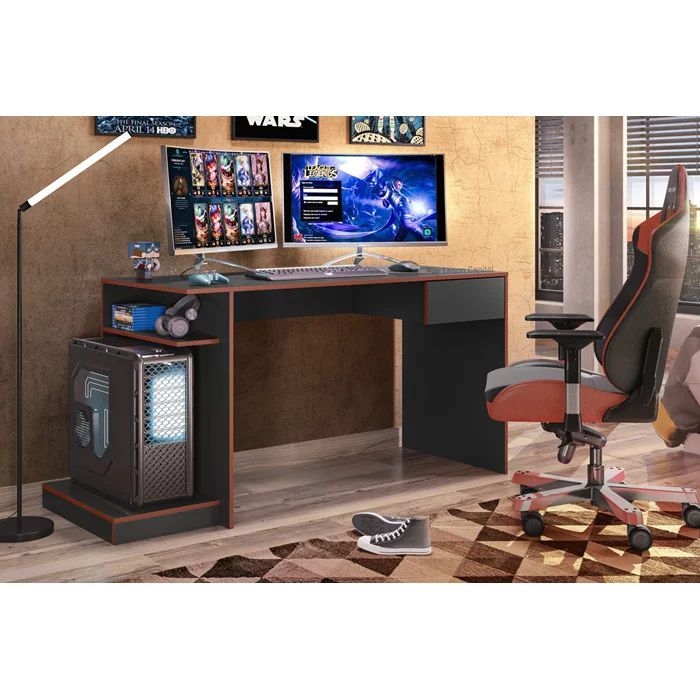 Mesa Computador Gamer Monster Madero