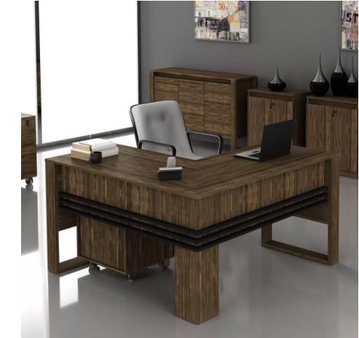 Mesa para escritório de Canto ME4145 Tecno Móbili