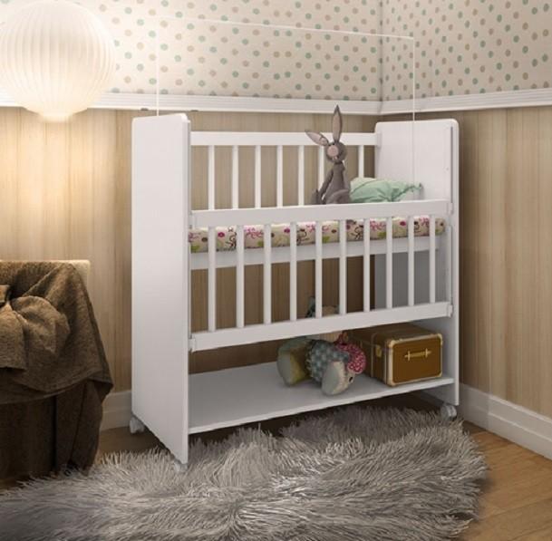 Mini Berço Bedside Sleepers Soninho Art In Móveis