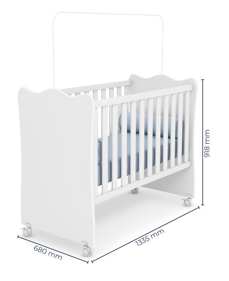 Móveis de Bebê  Guarda Roupa Helena + Berço 102 - Phoenix Baby