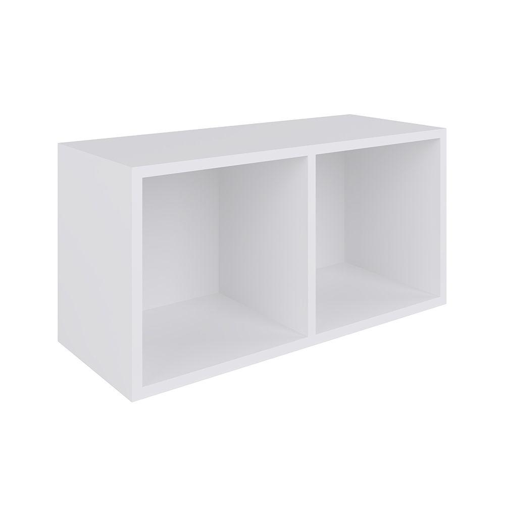 Nicho Cubo de parede 30x60 Branco BB 910 BC Completa Móveis
