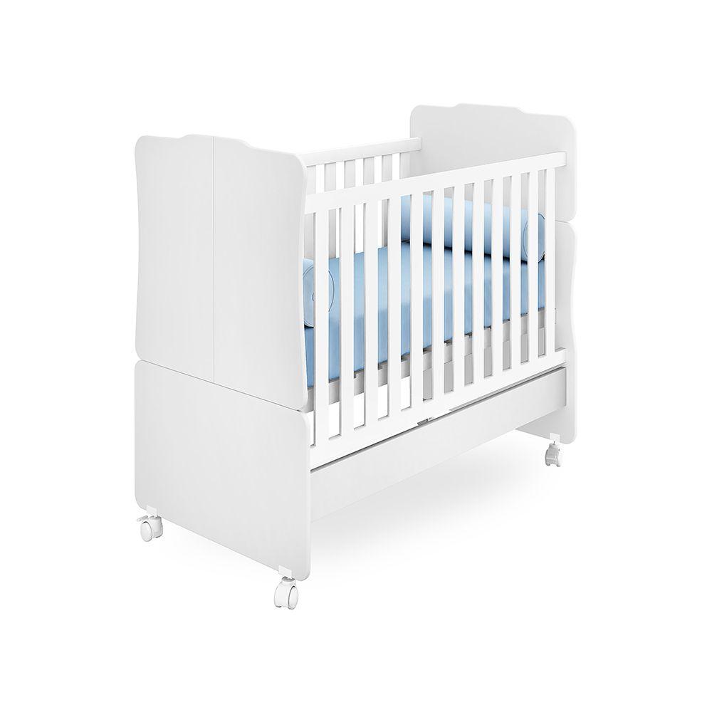 Quarto de Bebê Selena com Guarda Roupa 2 Portas + Módulo Aéreo + Berço 230