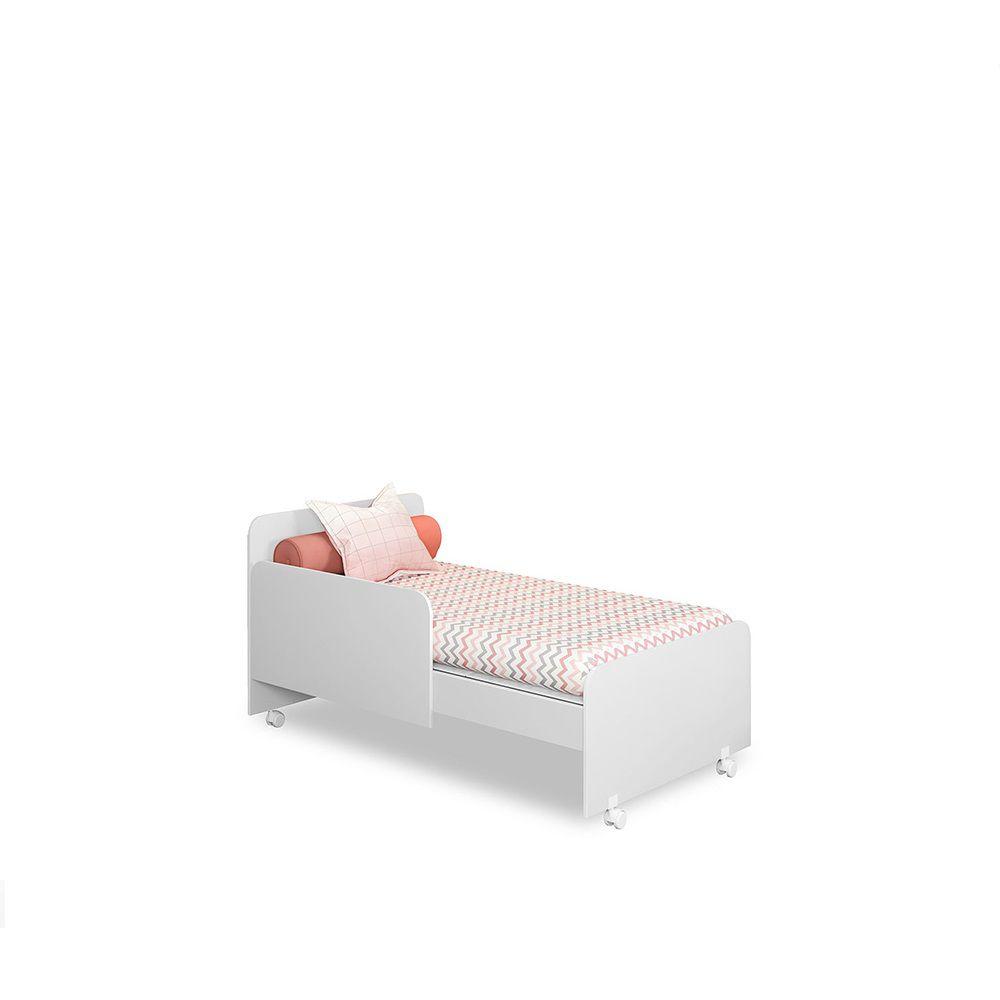 Quarto para Bebê com Berço Mini Cama SR + Guarda Roupa + Cômoda Laura - Phoenix
