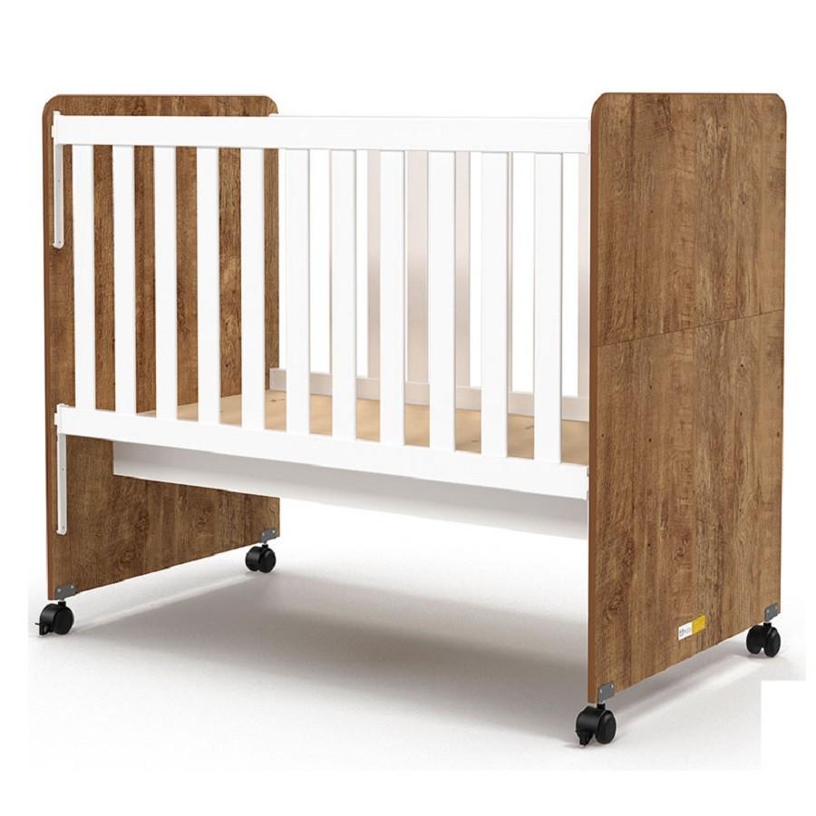 Quarto Para Bebê Com Guarda Roupas 4 Portas + Cômoda Smart + Berço Mini Cama Ninare Matic