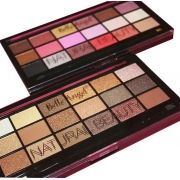 Box 12 un. Paleta De Sombras 18 Cores B049 / B050 Natural Beauty Belle Angel