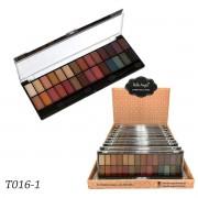 BOX 12 UN. Paleta de Sombras 28 Cores Belle Angel T016