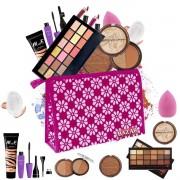 Kit de Maquiagem completo Belle Angel Base Matte Alta Cobertura + Cortesias