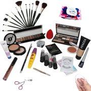 Kit Maquiagem Completa Ruby Rose Brinde Máscara facial BZKT01