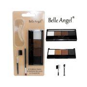 Kit Quarteto Para Sobrancelha + aplicador + 5 moldes - Belle Angel