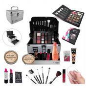 Maleta Completa com Maquiagem Ruby Rose Luisance + Brinde - BZ12-1