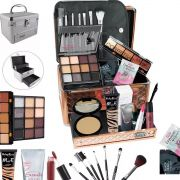 Maleta Completa com Maquiagem Ruby Rose Luisance + Cortesia da Loja - BZ19