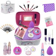 Maleta Infantil París + Kit maquiagens e itens de beleza BZ41