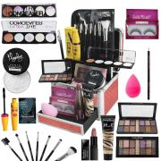 Maleta Maquiagem Mega Completa Ruby Rose Essencial Ultra Top