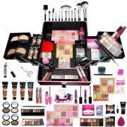 Maleta Profissional de Maquiagem Ruby Rose 4 Bases + Cortesias