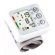 Medidor De Pressão Arterial Haiz Pulso Automático Digital