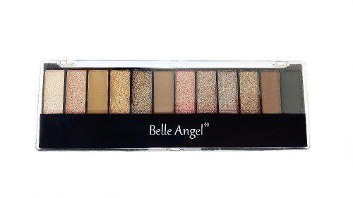 Box 12 Un. Paleta de Sombras Matte 12 Cores Belle Angel B012-2